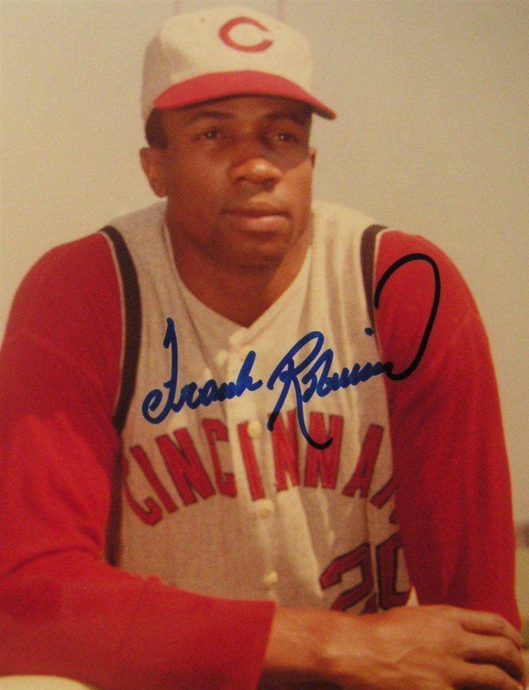 Frank Robinson PSA AutographFacts Frank Robinson