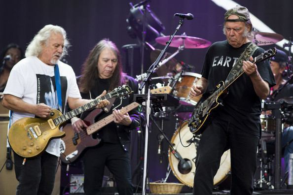 Frank Sampedro Neil Young and Frank Sampedro Photos British Summer Time