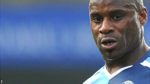 Frank Sinclair BBC Sport Frank Sinclair relishes Colwyn Bay player