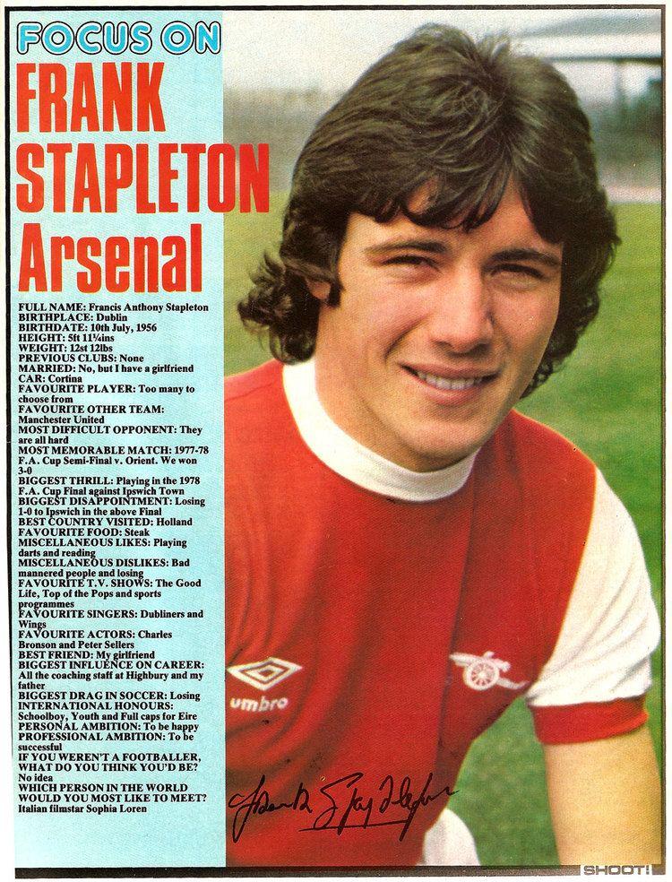 Frank Stapleton Focus on Frank Stapleton Shoot 1978 Brand New Retro