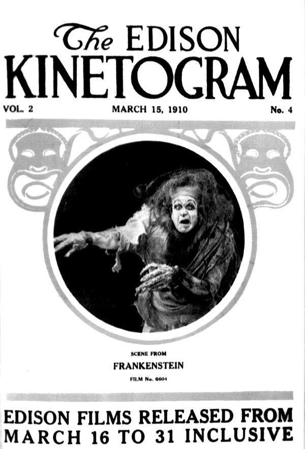 Frankenstein (1910 film) Thoughts on Frankenstein 1910 Silentology
