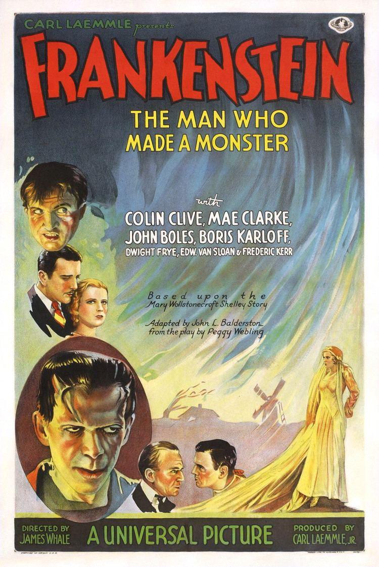 Frankenstein (1931 film) Frankenstein 1931 film Wikipedia