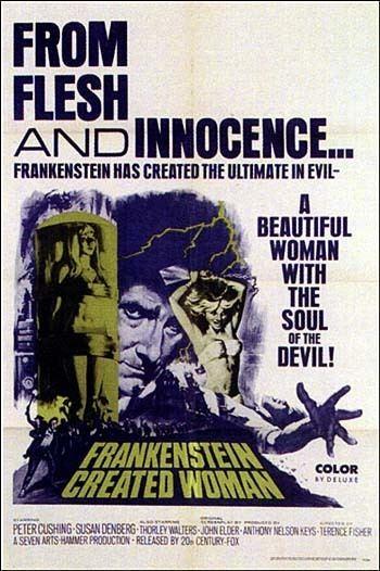 Frankenstein Created Woman Frankenstein Created Woman Soundtrack details SoundtrackCollectorcom
