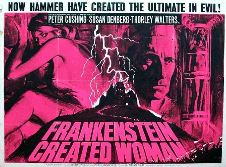 Frankenstein Created Woman Frankenstein Created Woman 1967 REVIEW The Spooky Isles