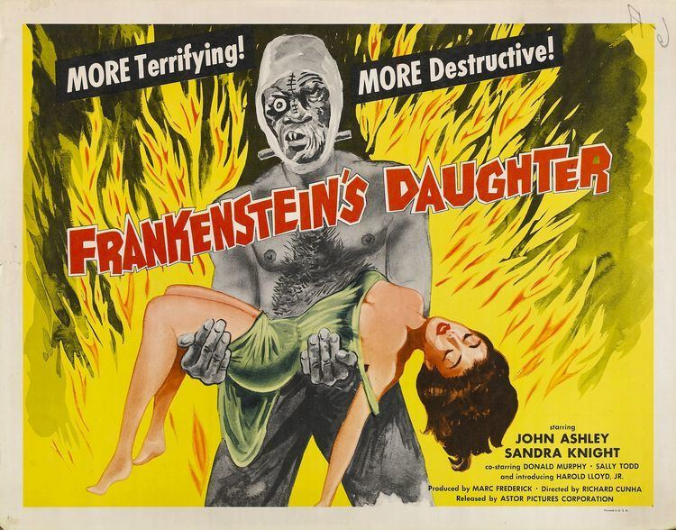 Frankenstein's Daughter Frankensteins Daughter HORRORPEDIA