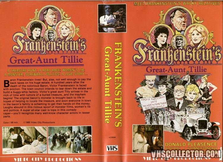 Frankenstein's Great Aunt Tillie Frankensteins Great Aunt Tillie VHSCollectorcom Your Analog