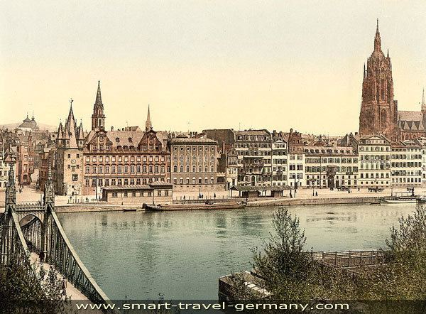 Frankfurt in the past, History of Frankfurt