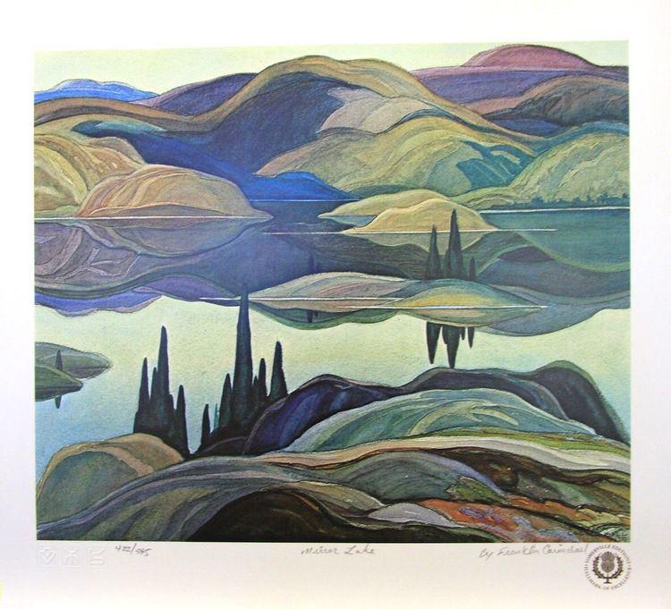 Franklin Carmichael Art Country Canada FRANKLIN CARMICHAEL