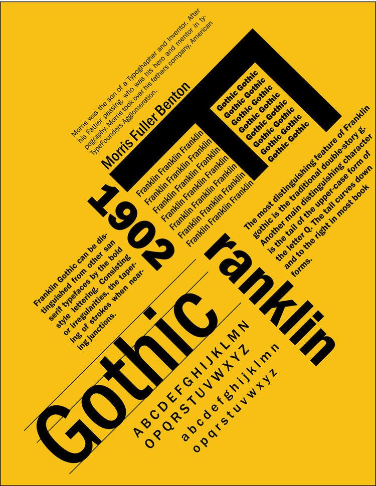 Franklin Gothic - Alchetron, The Free Social Encyclopedia