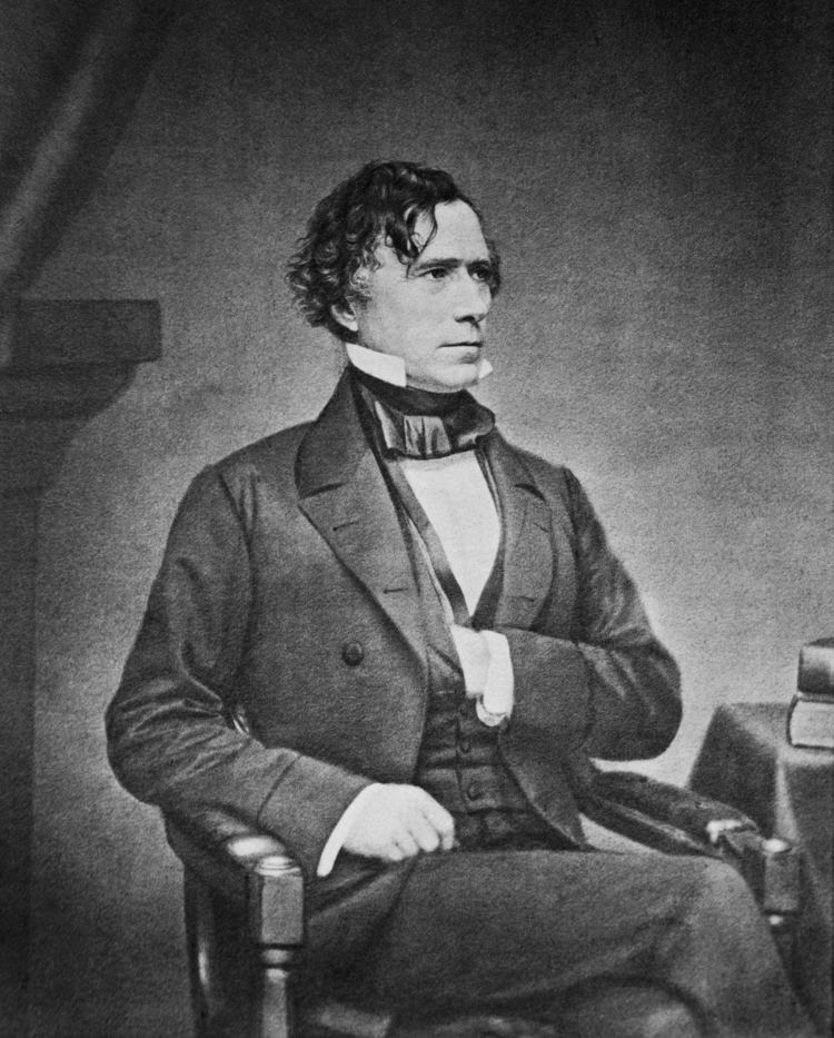 Franklin Pierce Inauguration of Franklin Pierce Wikipedia the free