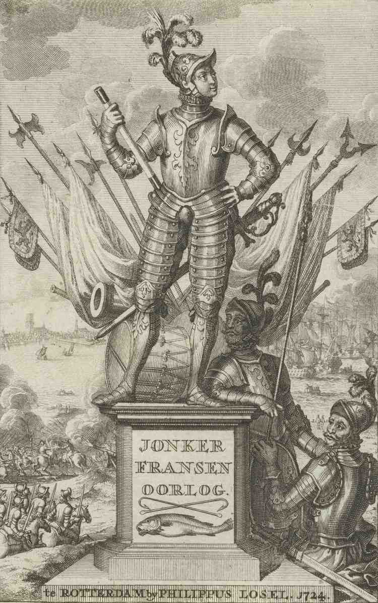 Frans van Brederode Plunderingen door troepen Jonker Frans van Brederode De Strijd van