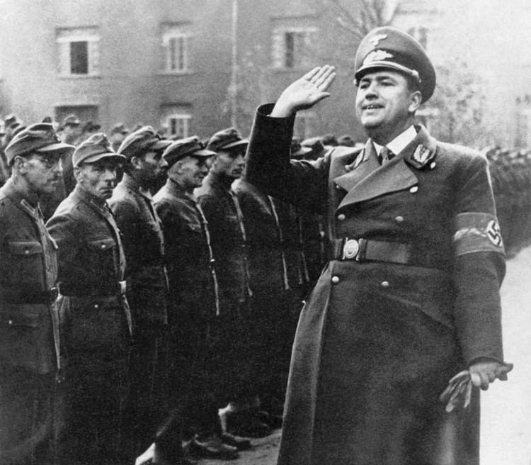 Franz Hofer Hofer Franz WW2 Gravestone