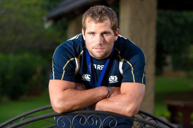 Fraser Brown (rugby union) New Scotland rugby call up Fraser Brown speaks about his