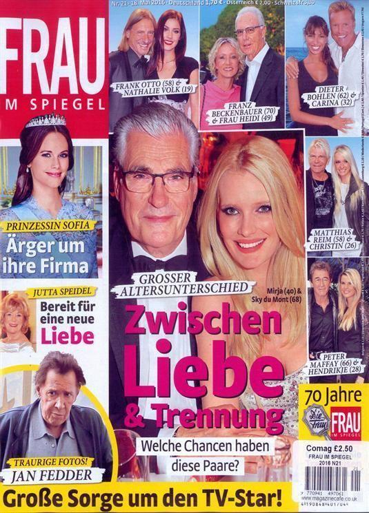 Frau im Spiegel Frau Im Spiegel Magazine Subscription Buy at Newsstandcouk German