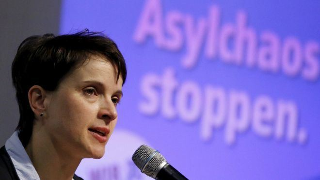 Frauke Petry Profile German rightwing AfD leader Frauke Petry BBC News