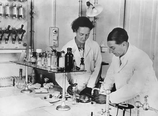 Frédéric Joliot-Curie Frederic and Irene JoliotCurie French chemists Britannicacom