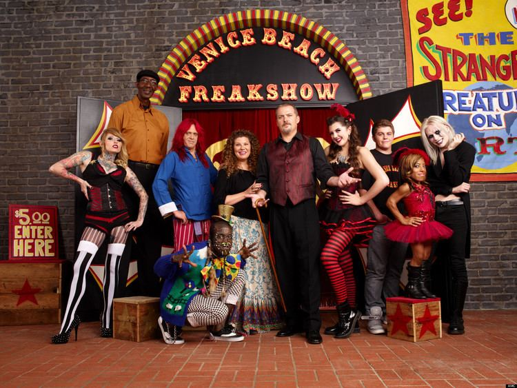 Freakshow (TV series) Freakshow39 Meet The Cast Behind AMC39s New Reality Series VIDEO