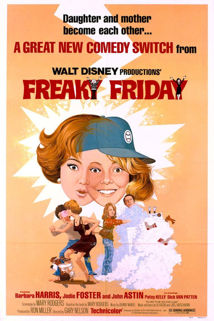 Freaky Friday (1976 film) wwwgstaticcomtvthumbmovieposters9735p9735p