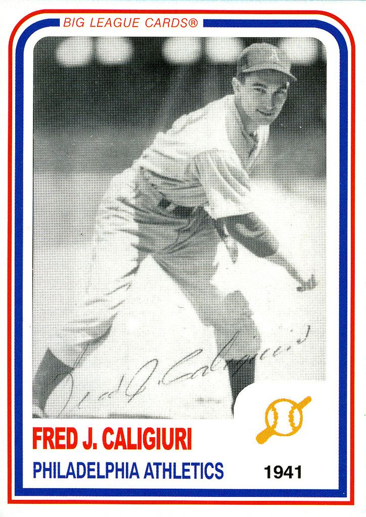 Fred Caligiuri Fred Caligiuri Baseball Autograph Fred played in 18 games Flickr
