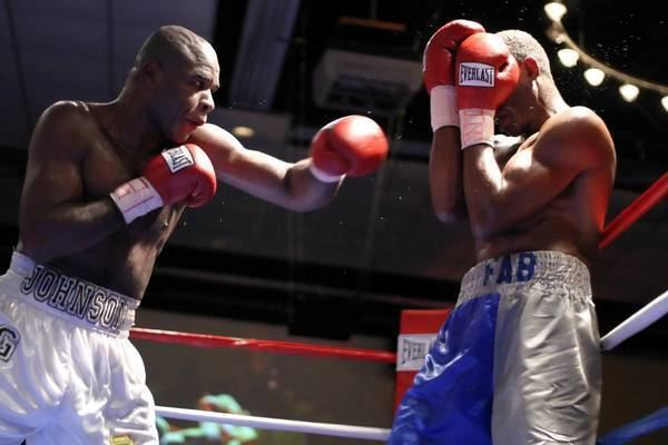 Fred Moore (boxer) Glen Johnson vs Fred Moore Boxing Photos