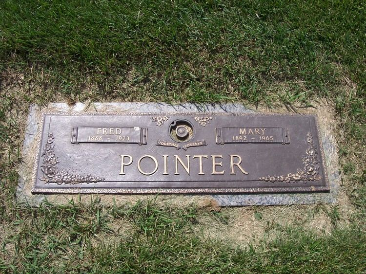 Fred Pointer Fred Pointer 1888 1973 Find A Grave Memorial