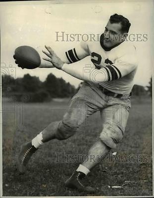 Fred Vanzo 1938 Press Photo Professional American Football Player Fred Vanzo