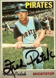 Freddie Patek Freddie Patek Baseball Stats by Baseball Almanac