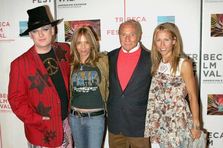 Freddy DeMann Boy George amp Rosanna Arquette amp Sheryl Crow amp Freddy De