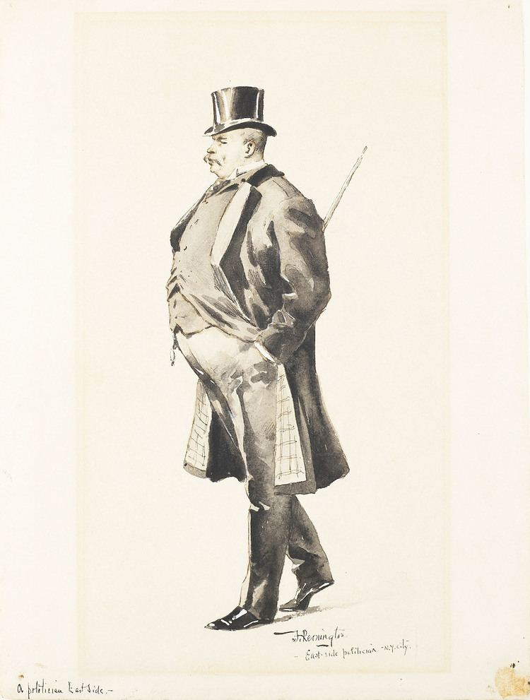 Frederic Remington (politician) FileAn EastSide Politician by Frederic Remington BMAjpg