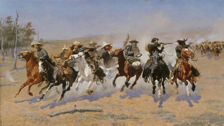Frederic Remington (politician) Dashing for America Frederic Remington National Myths and Art