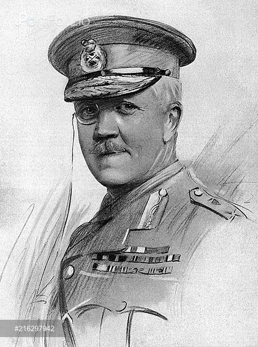 Frederick Barton Maurice MajorGeneral Sir Frederick Barton Maurice YOONIQ Images Stock