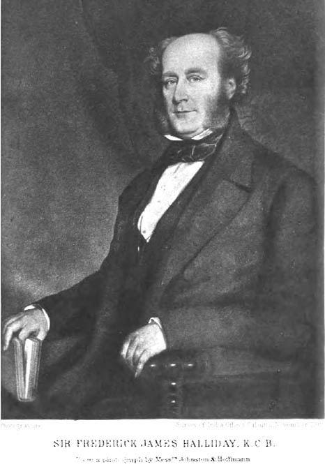 Frederick James Halliday