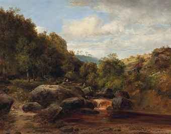 Frederick Richard Lee Frederick Richard Lee British 17981879 A Quiet Nook