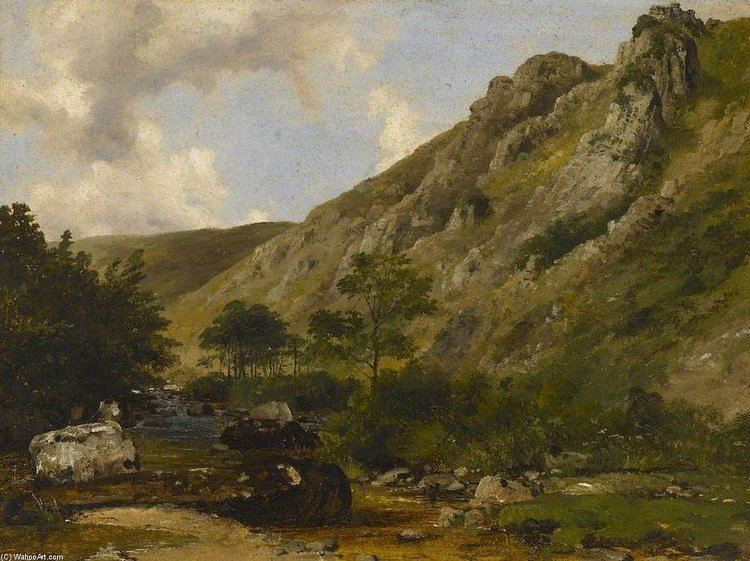 Frederick Richard Lee The River Teign South Devonquot by Frederick Richard Lee