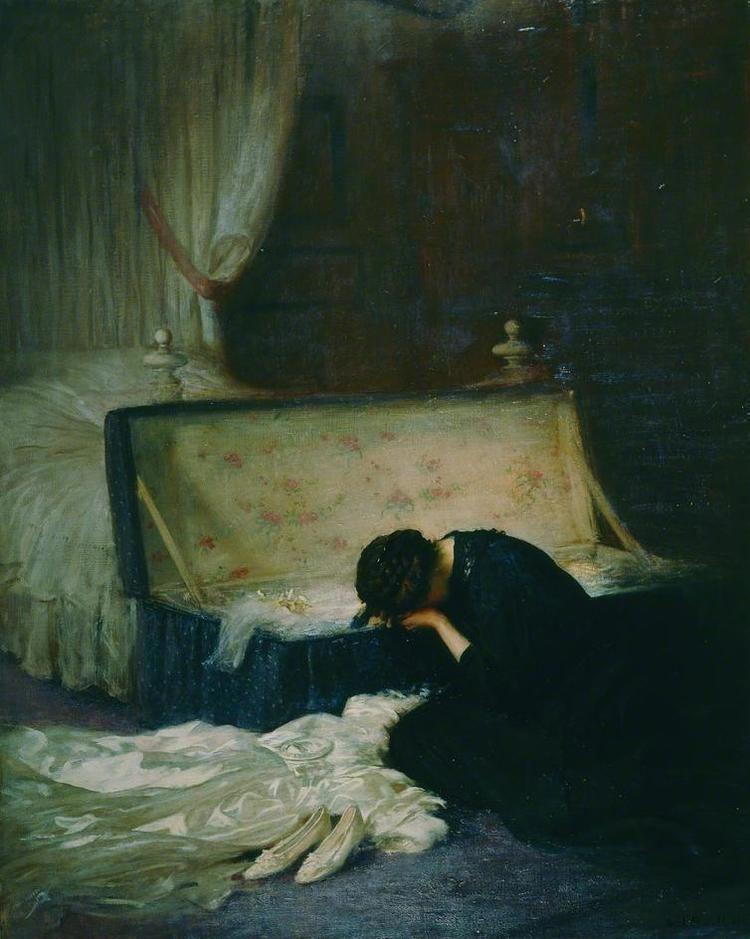 Frederick William Elwell The Wedding Dress Frederick W Elwell Byron39s muse