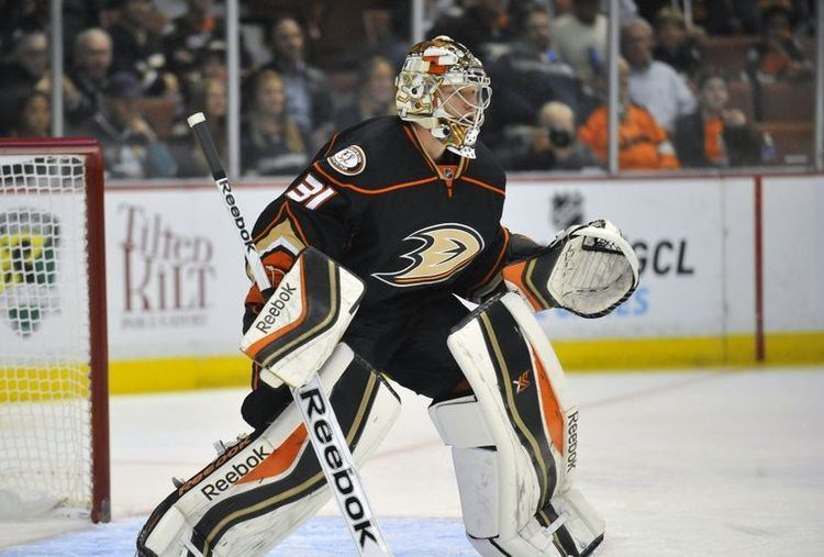 Frederik Andersen Anaheim Ducks Will Go As Far As Frederik Andersen Will