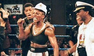 Fredia Gibbs Womens Boxing Belinda Laracuente vs Christy Martin