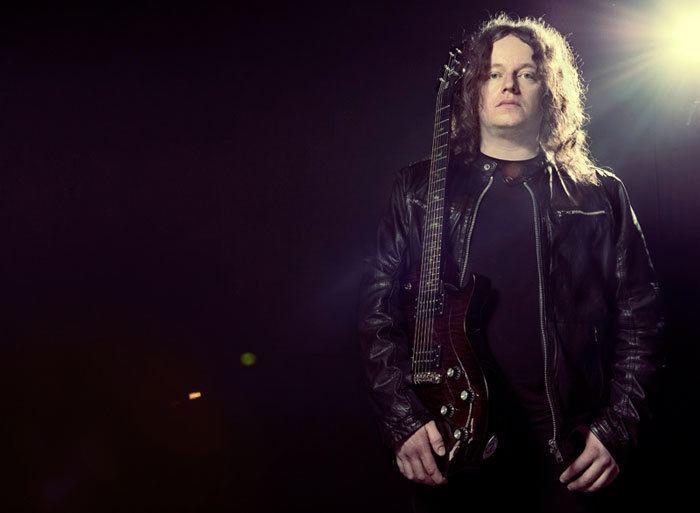 Fredrik Åkesson Opeth Guitarist Fredrik kesson Unveils PRS SE Signature Model at MESSE