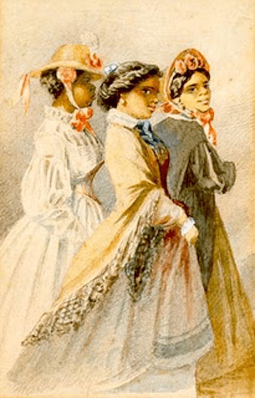 Free people of color 1855 Free people of color flourished in antebellum New Orleans