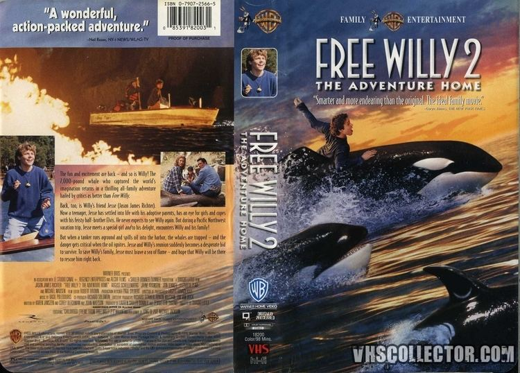 Free Willy 2: The Adventure Home Free Willy 2 The Adventure Home VHSCollectorcom Your Analog