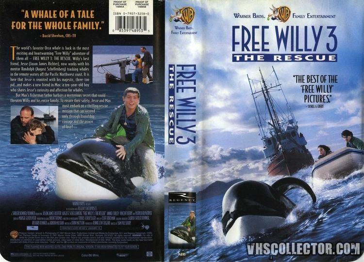 Free Willy 3: The Rescue Free Willy 3 The Rescue VHSCollectorcom Your Analog Videotape