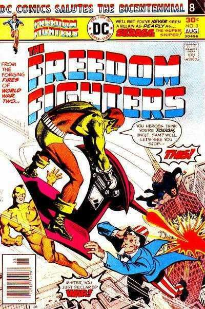 Freedom Fighters (comics) Freedom Fighters Comic Books for Sale Buy old Freedom Fighters