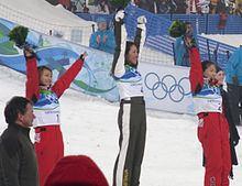 Freestyle skiing at the 2010 Winter Olympics – Women's aerials httpsuploadwikimediaorgwikipediacommonsthu