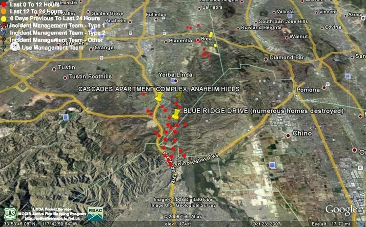 Freeway Complex Fire Freeway Complex Firefighter Blog