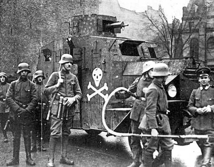 Freikorps Today in History 24 May 1921 Freikorps Troops Outlawed by Weimar