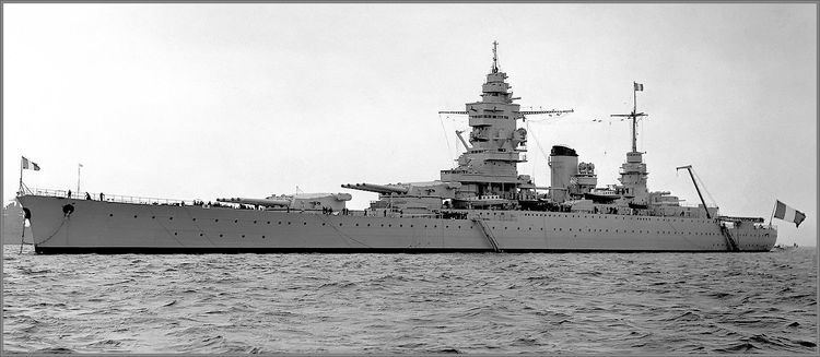 French battleship Dunkerque Vintage photographs of battleships battlecruisers and cruisers