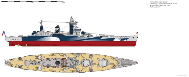 French battleship Strasbourg The French Battleship Strasbourg Page 3 Shipbucket