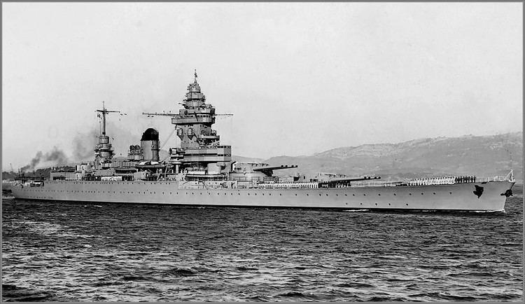 French battleship Strasbourg Vintage photographs of battleships battlecruisers and cruisers
