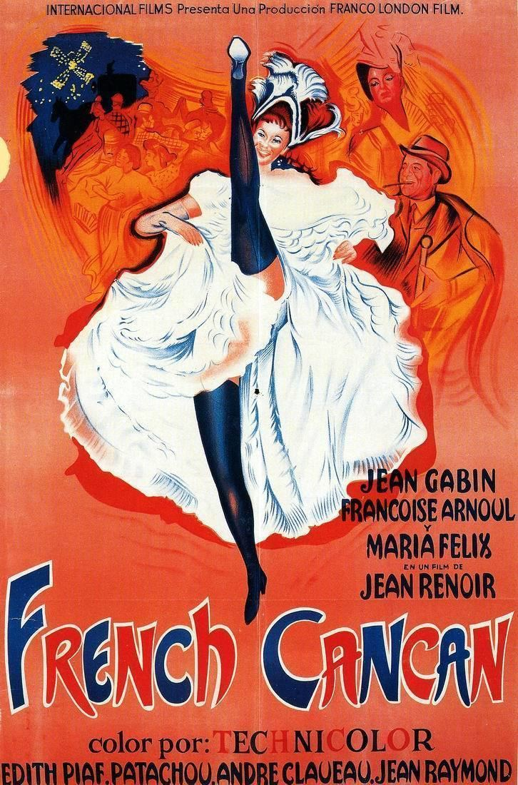French Cancan MOVIE REVIEW FOREIGN LANGUAGE WEEKEND French Cancan 1954