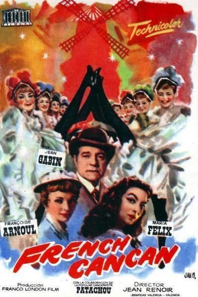 French Cancan French Cancan Movie Review Film Summary 1954 Roger Ebert
